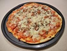 Špagetová pizza Ládi Hrušky za 95 Kč