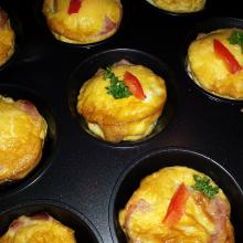 Vajíčkové muffiny Ládi Hrušky za 51 Kč